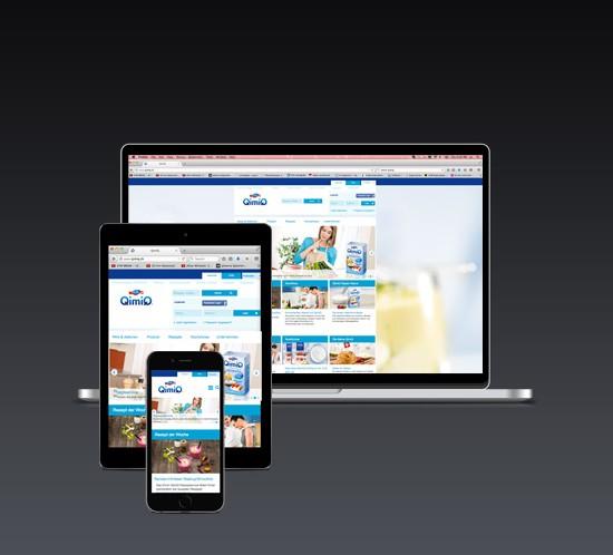 QimiQ Schweiz Responsive Website