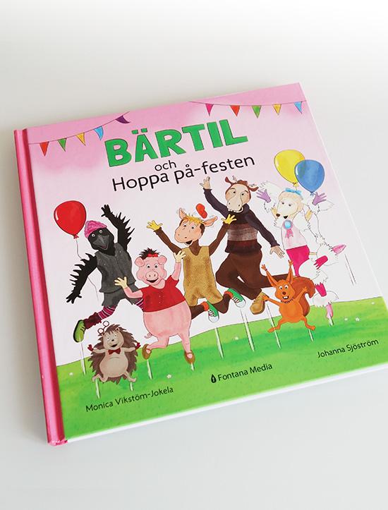 Bärtil och Hoppa på-festen av Monica Vikström-Jokela och