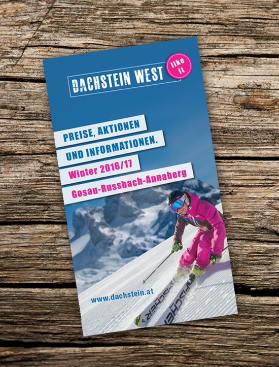 Folder Design Dachstein West
