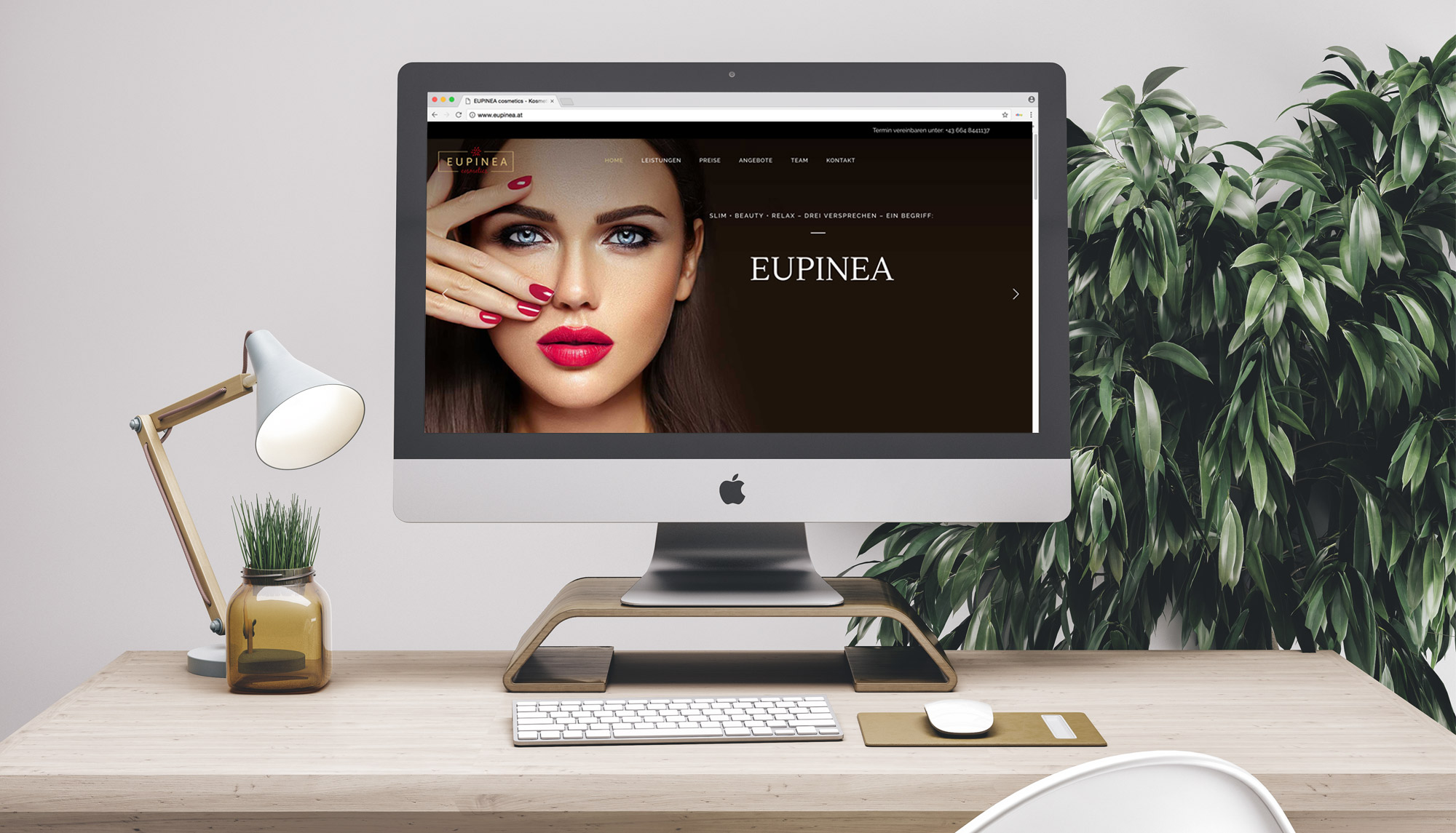 Eupinea Website Design